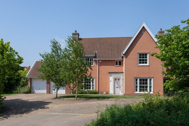 Thumbnail Detached house for sale in Bawburgh Lane, New Costessey, Norwich
