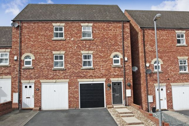 Thumbnail 3 bed town house for sale in Marsden Mews, Hemsworth, Pontefract