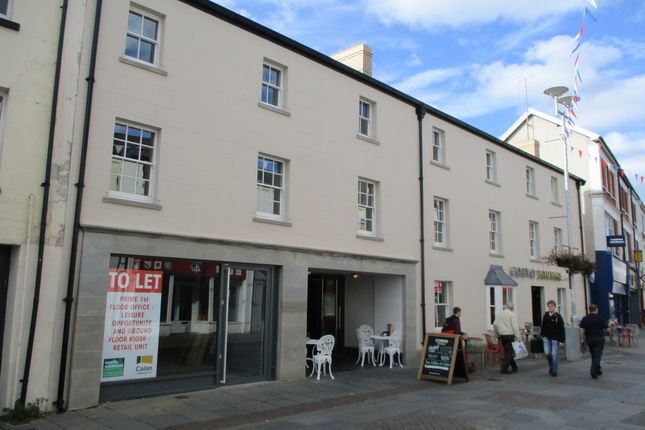 Office to let in Prestigious Town Centre Business/Showroom Unit, 3-7 Adare Street, Bridgend