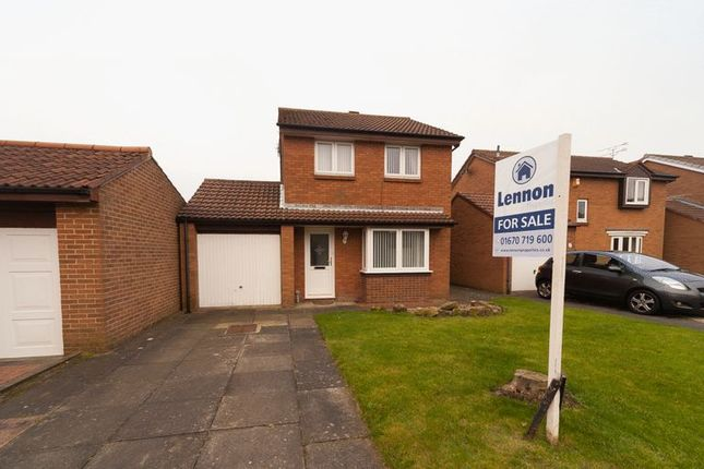 Thumbnail Detached house for sale in Downe Close, Blyth
