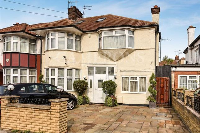 Thumbnail Semi-detached house for sale in Park Avenue North, Willesden Green, London