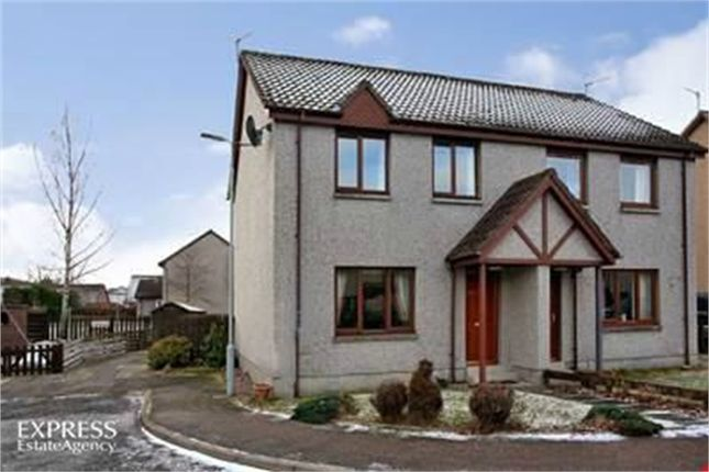 Thumbnail Semi-detached house for sale in Craigview Place, Ballater, Aberdeenshire