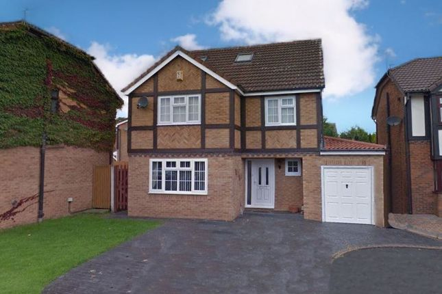 Thumbnail Detached house for sale in Rogersons Green, Halewood, Liverpool