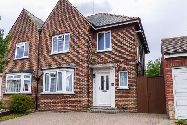 Thumbnail Semi-detached house for sale in Kings Drive, Gravesend, Kent
