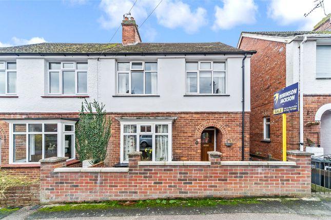 Thumbnail Semi-detached house for sale in Lawn Road, Tonbridge, Kent