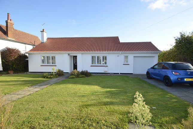 Thumbnail Detached bungalow for sale in Links Avenue, Felixstowe