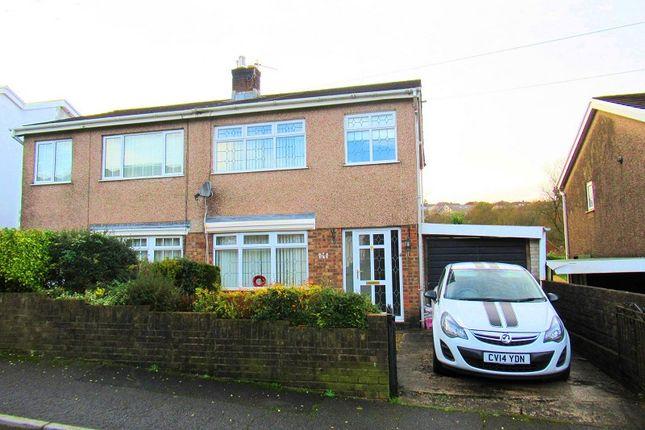 Thumbnail Semi-detached house for sale in Yr-Ysfa, Maesteg, Bridgend.