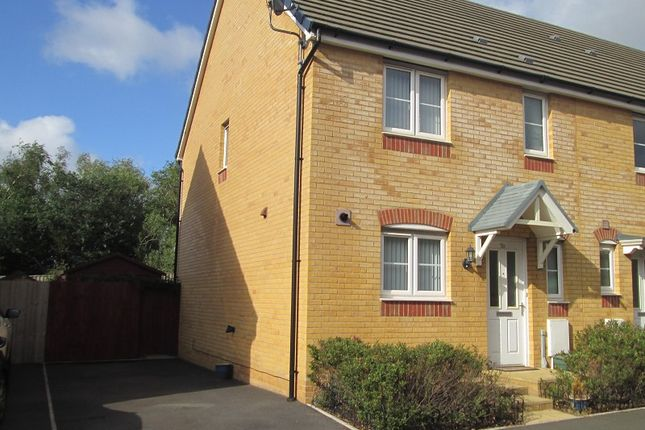 Thumbnail End terrace house for sale in Parc Penderi, Penllergaer, Swansea, City And County Of Swansea.