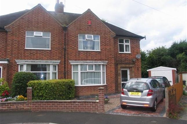 Thumbnail Semi-detached house to rent in Hillside Crescent, Beeston, Nottingham