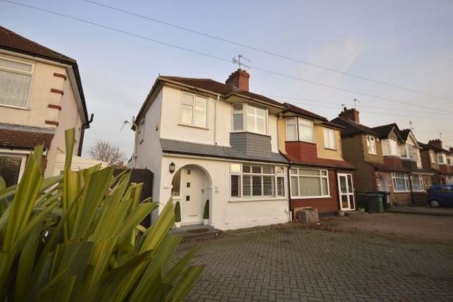 Thumbnail Semi-detached house to rent in Perivale Gardens, Watford