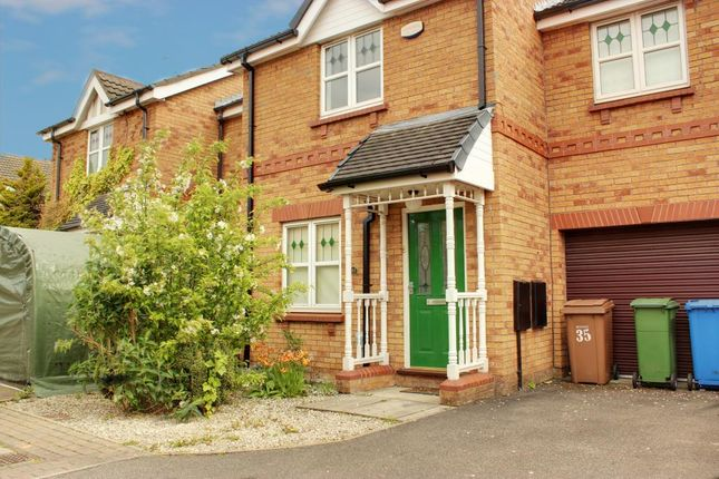 Thumbnail Terraced house to rent in Ropery Close, Beverley