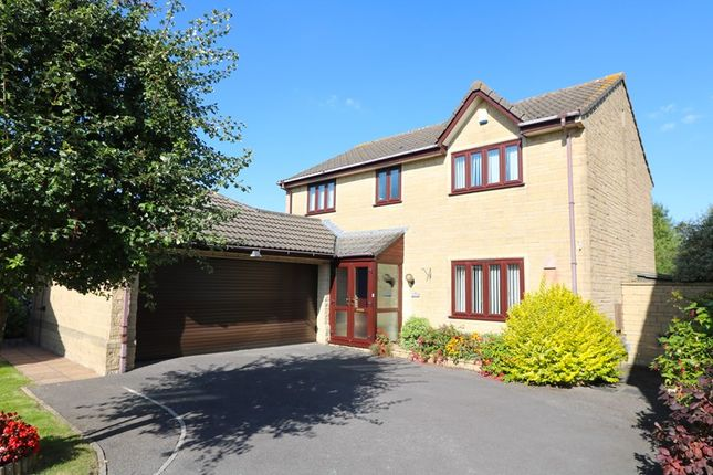 Thumbnail Detached house for sale in Upper Furlong, Timsbury, Bath