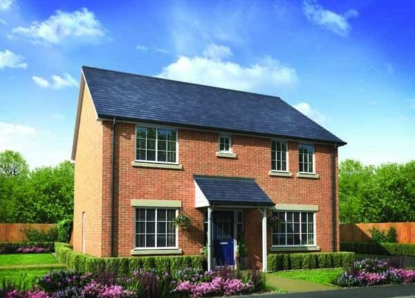 "Thumbnail Detached house for sale in ""The Potter "" at Carnoustie Close, Ashington"
