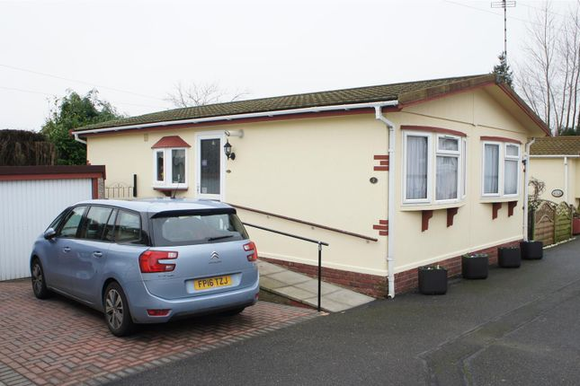 Thumbnail Mobile/park home for sale in Queen Street, Markfield