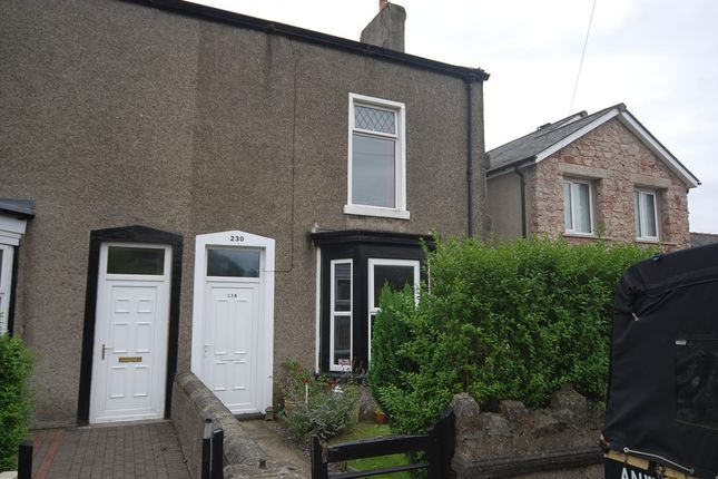 Thumbnail End terrace house for sale in Ireleth Road, Askam-In-Furness