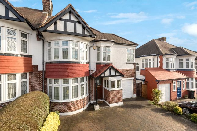 Thumbnail Semi-detached house for sale in Townsend Avenue, Southgate, London