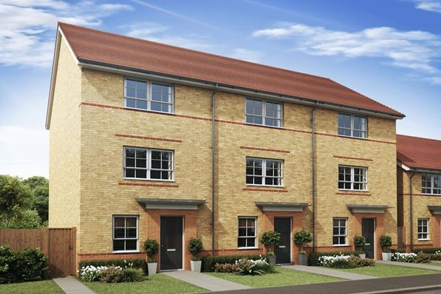 Thumbnail Town house for sale in The Hawley At College Gardens, Ellesmere Port