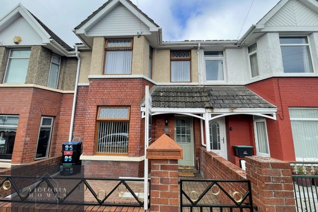 Thumbnail Terraced house for sale in Badminton Grove, Ebbw Vale