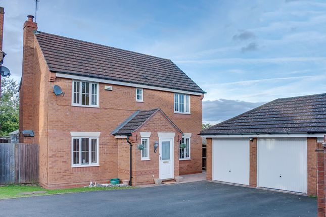 Thumbnail Detached house for sale in Ticknall Close, Brockhill, Redditch