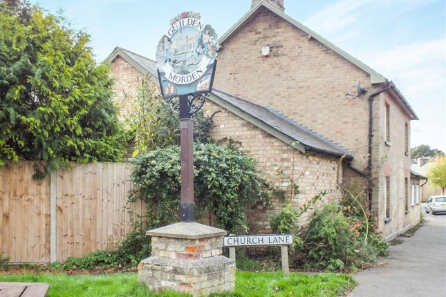 Guildensign of Church Street, Guilden Morden, Royston SG8