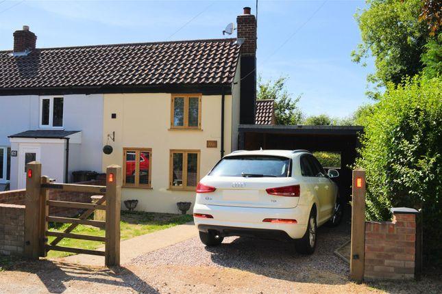 Thumbnail Cottage for sale in Church Road, Tilney St. Lawrence, King's Lynn