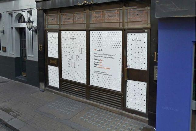 Thumbnail Retail premises to let in Bateman Street, London