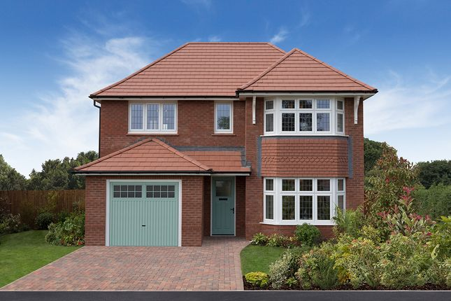 "Thumbnail Detached house for sale in ""Oxford"" at Ledsham Road, Little Sutton, Ellesmere Port"