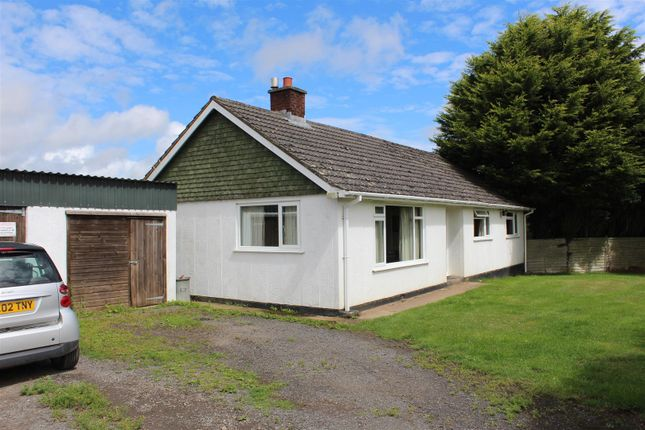 Thumbnail Detached bungalow for sale in Winkleigh
