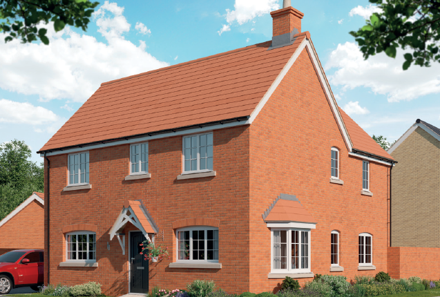 4 bed detached house for sale in Eastcotts Green, Shortstown, Bedford MK42