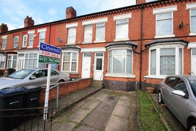 Thumbnail Terraced house for sale in Hob Moor Road, Small Heath, Birmingham