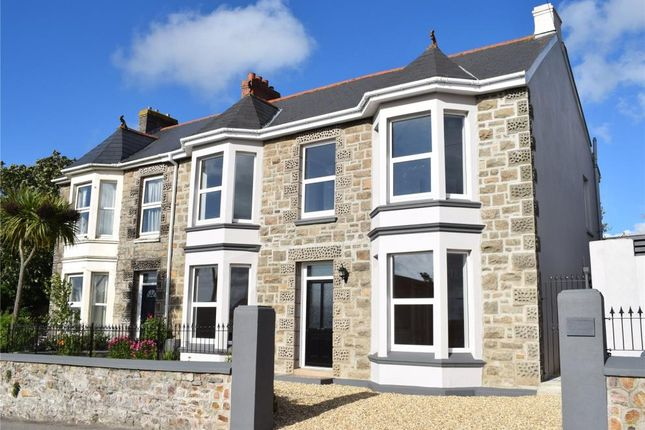 Thumbnail End terrace house for sale in Trew Parc, Pednandrea, Redruth