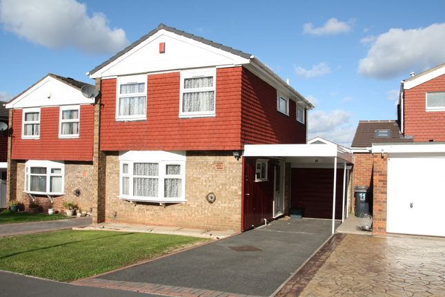 Thumbnail Link-detached house for sale in St. Edmunds Close, West Bromwich