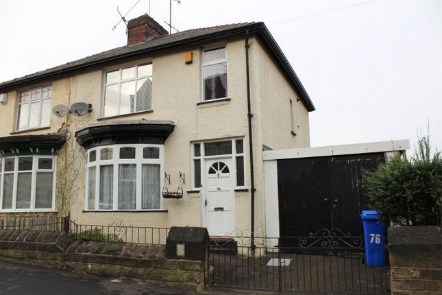Thumbnail Semi-detached house for sale in Carlton Road, Sheffield, South Yorkshire