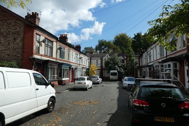 Street View of Whalley Avenue, Whalley Range, Manchester. M16