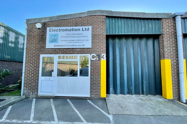 Thumbnail Industrial to let in Unit C13, Erin Trade Centre, Bumpers Farm Industrial Estate, Chippenham