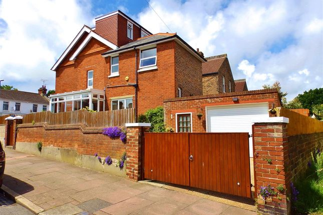 Thumbnail Terraced house for sale in Motcombe Road, Eastbourne