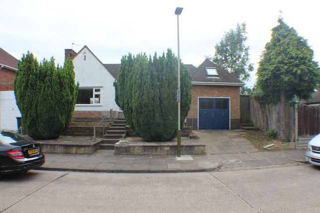 Thumbnail Bungalow for sale in Chatteris Avenue, Leicester
