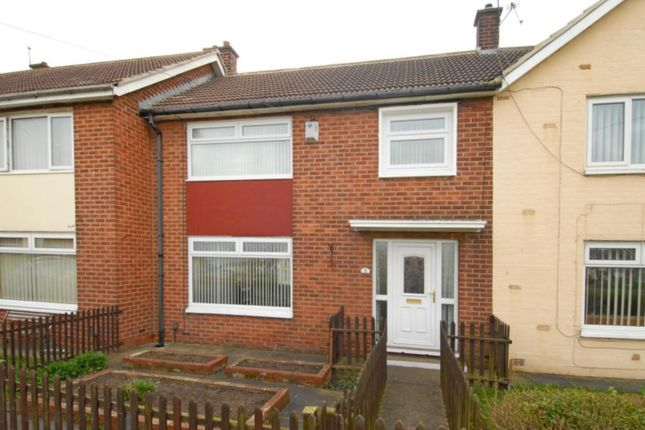 Thumbnail Terraced house to rent in Pennard Green, Middlesbrough