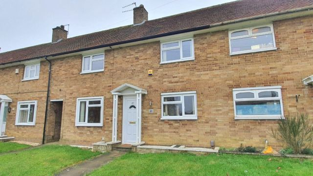 2 bed terraced house for sale in East Oval, Kingsheath, Northampton NN5