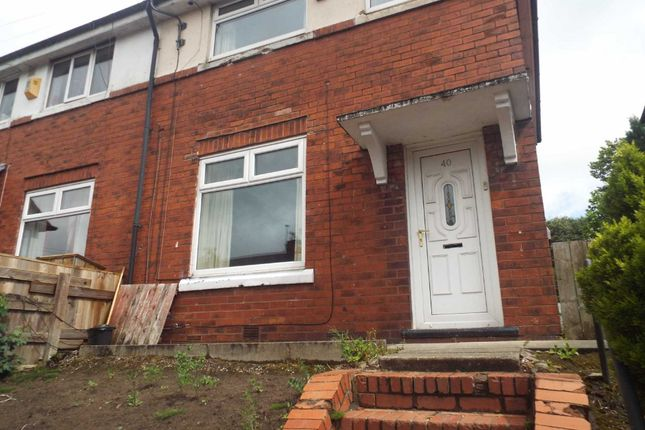 Thumbnail Semi-detached house to rent in Tennyson Road, Middleton, Manchester