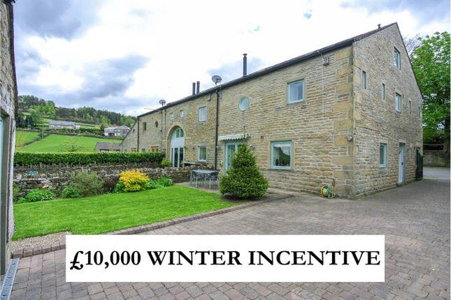 Thumbnail Barn conversion for sale in Broad Oak Farm, Linthwaite, Huddersfield