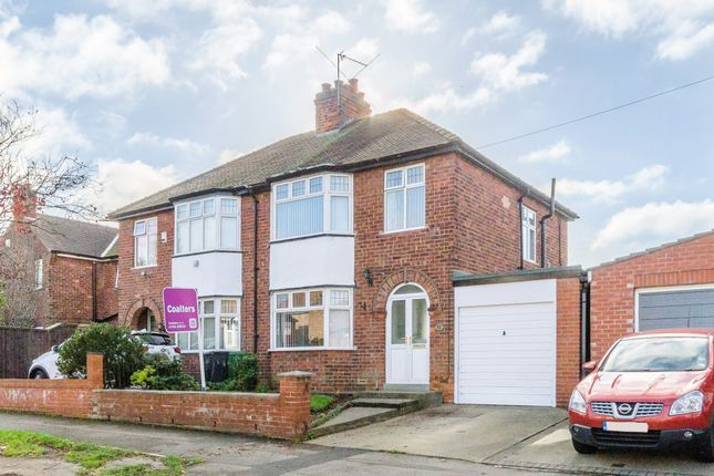 Thumbnail Semi-detached house for sale in Glebe Avenue, York