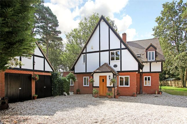 Thumbnail Detached house for sale in Hermitage Road, Cold Ash, Thatcham, Berkshire
