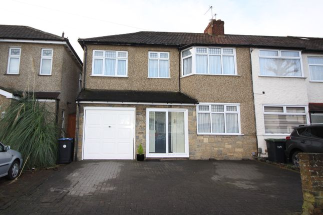 Thumbnail End terrace house for sale in Larmans Road, Enfield