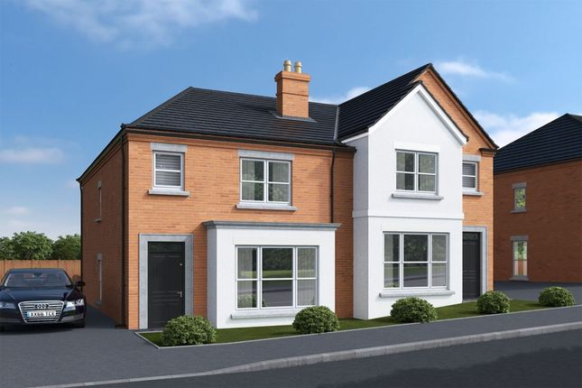 Thumbnail Semi-detached house for sale in Regent Park, North Road, Newtownards