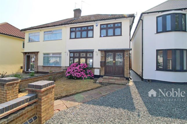 Thumbnail Semi-detached house for sale in Dury Falls Close, Hornchurch