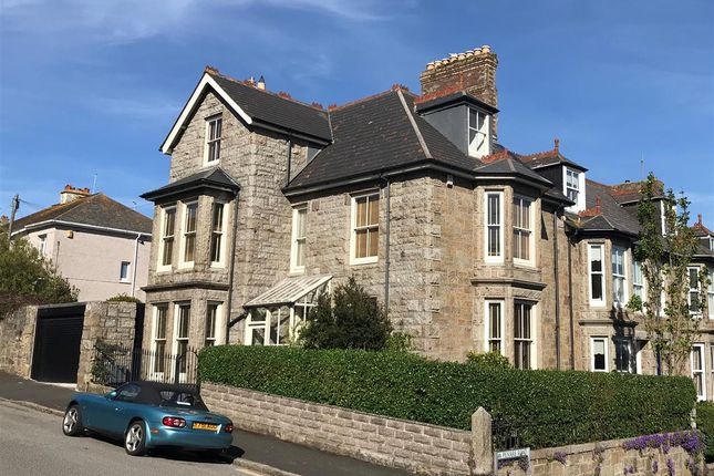 Thumbnail End terrace house for sale in Penare Road, Penzance