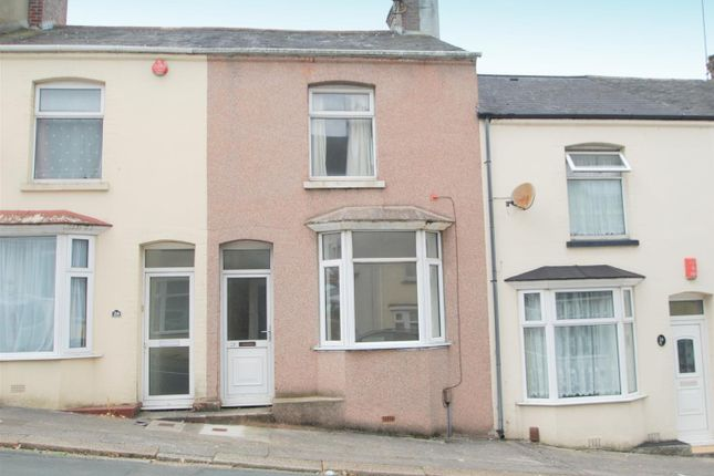 Thumbnail Terraced house to rent in Glenmore Avenue, Plymouth
