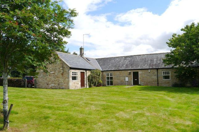 Thumbnail Detached bungalow for sale in Newton Red House Farm, Mitford, Morpeth