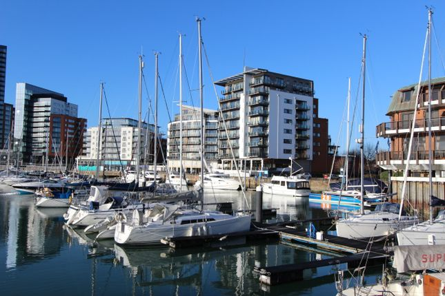 Thumbnail Flat to rent in 33 Channell Way, Ocean Village, Southampton